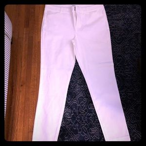 NWOT - Old Navy pixie ankle pant - white